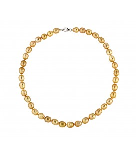 COLLIER PERLE GOLD 8/10 MM