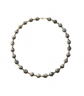 COLLIER CERCLEE BOULE OR